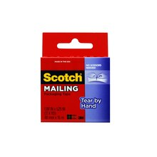 3M Scotch Tear-By-Hand Mailing Packaging Tape