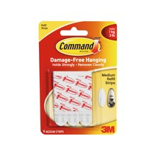 3M Command Refill Strips, Medium