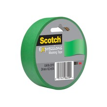 3M Scotch Expressions Masking Tape, Primary Green