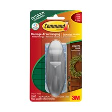 3M Command Outdoor Designer Hook with Foam Strips