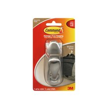 3M Command Forever Classic Metal Hook, Large
