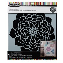 DIY Home Moroccan Flower Wall Stencil by ArtMinds