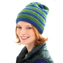 Lion Brand® Vanna's Choice® Junior Crocheted Hat, medium