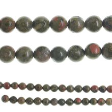 Bead Gallery® Round Unakite Beads, medium
