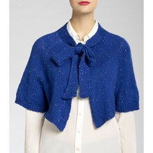 Isaac Mizrahi® CRAFT™ Broadway Knit Capelet, medium