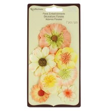 Yellow Garden Picks Flower Stickers by Recollections