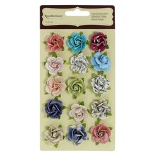 Printed Rose Floral Embellishments by Recollections
