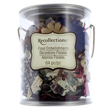 Fall Medley Floral Embellishments by Recollections