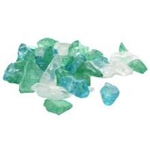 Turquoise Sea Glass Decorative Fillers by Ashland