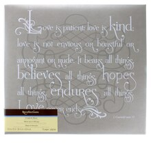 Love Is Kind Scrapbook Album by Recollections