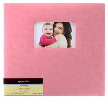 Pink Mega Scrapbook Album by Recollections