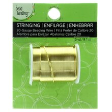 Gold Beading Wire by Bead Landing