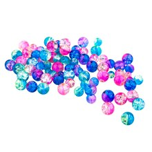 Glass Bead Mix by Bead Landing™, Blue/Pink/Green