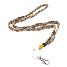 Seed Bead Lanyard by Bead Landing, Gold Multicolored