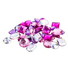 Acrylic Gems by Bead Landing, Pink Large