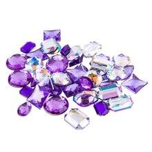 Acrylic Gems by Bead Landing, Purple Large