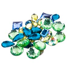 Acrylic Gems by Bead Landing™, Ocean Mix Large