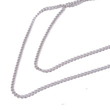 Charmalong Rhodium Necklace by Bead Landing™