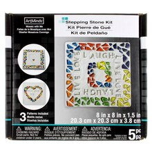 Square Stepping Stone Kit by ArtMinds, 8""