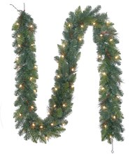 Lighted Mixed Pine Garland by Celebrate It