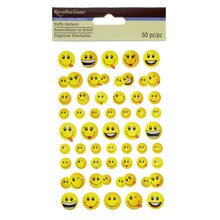 Puffy Smiley Stickers by Recollections