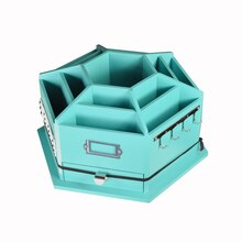 Recollections Storage Desktop Carousel, Turquoise