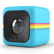 Polaroid Cube Action Camera, Blue Angle