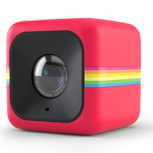 Polaroid Cube Action Camera, Red Angle