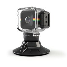 Polaroid Cube Waterproof Case & Suction Mount