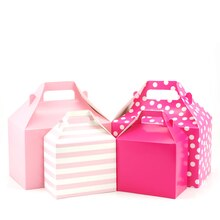 Gable Boxes by Celebrate It, Magenta, 4 Pack, Product