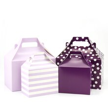 Gable Boxes by Celebrate It, Purple, 4 Pack, Product