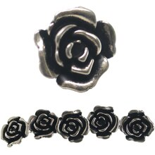 Bead Gallery Acrylic Rose Beads, 30mm, Close-Up