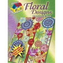Dover 3D Floral Designs Coloring Book
