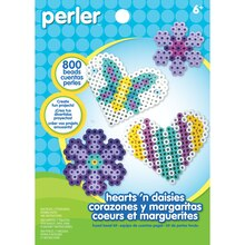 Perler Hearts 'n Daisies