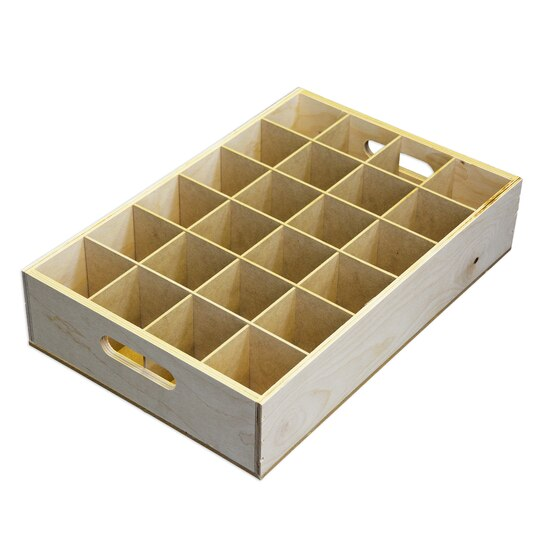 Find the rtf wood soda crate by artminds at michaels for Where can i buy wooden milk crates
