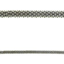 Bead Gallery Metal Rondelle Beads, Silver