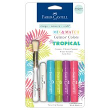 Faber-Castell Gelatos Designer Colors, Tropical