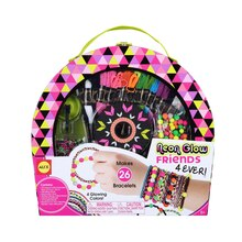 Alex Neon Glow Friends 4 Ever Bracelet Kit