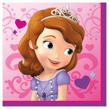 Sofia the First Luncheon Napkins, 16ct