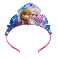 Paper Disney Frozen Tiaras, 3ct, medium