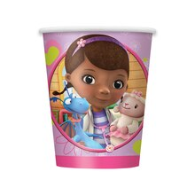 9oz Doc McStuffins Paper Cups, 8ct