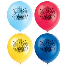 "12"" Latex PAW Patrol Balloons, 8ct"