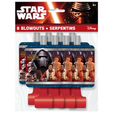 Star Wars Party Blowers, 8ct
