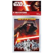 Star Wars Invitations, 8ct