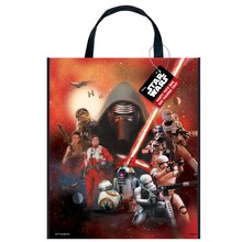 "Large Plastic Star Wars Favor Bag, 13"" x 11"""