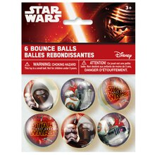 Star Wars Bouncy Balls, 6ct
