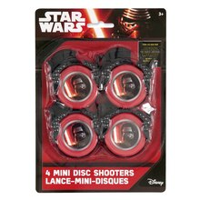 Mini Star Wars Disc Shooters, 4ct