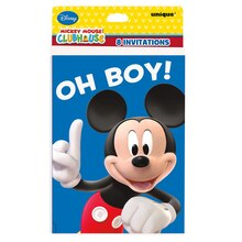 Mickey Mouse Invitations, 8ct