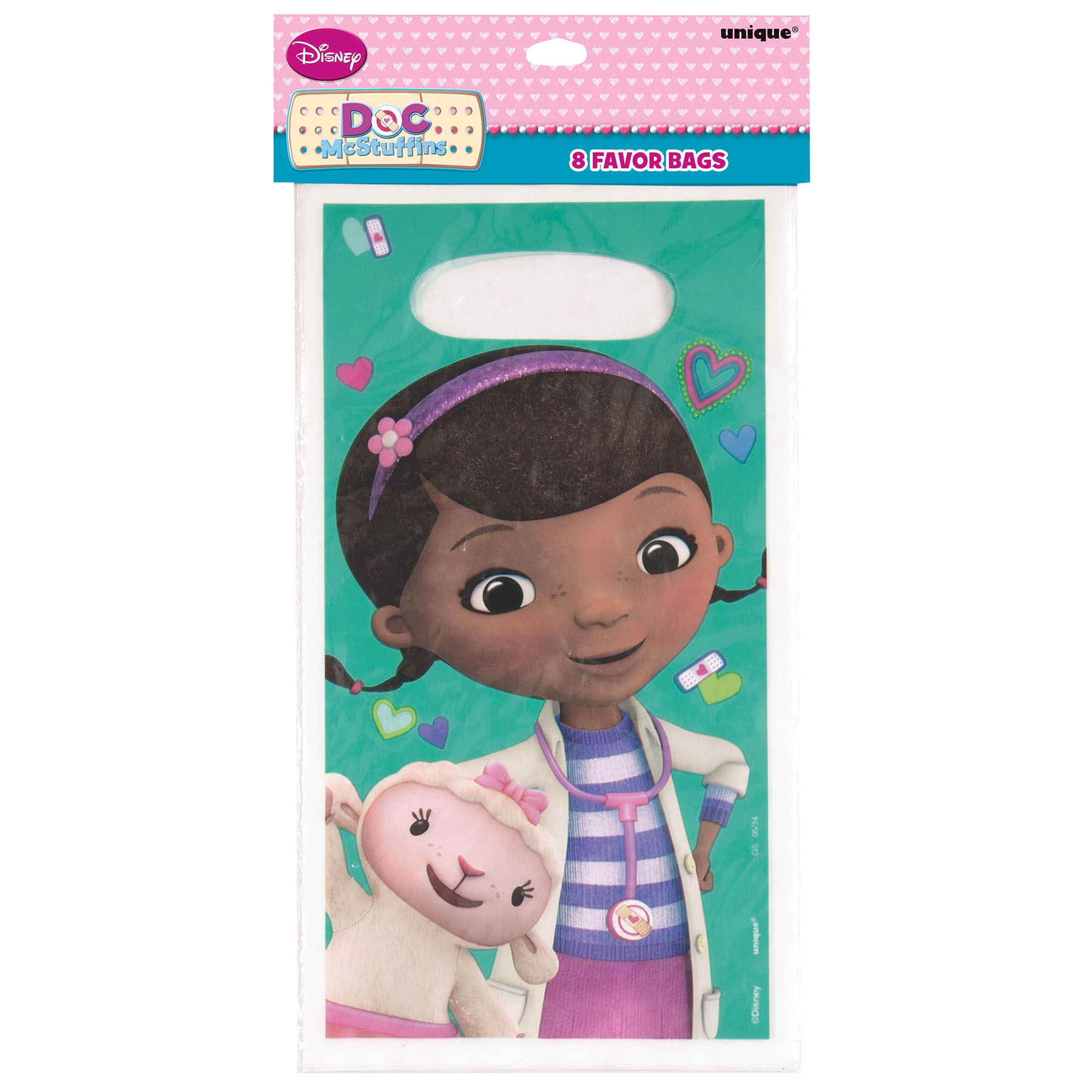 Doc Mcstuffins Table And Chair Set Part - 21: Teal Doc McStuffins Favor Bags   Doc Mcstuffins Party Supplies And Party  Favors
