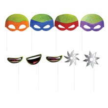 Teenage Mutant Ninja Turtles Photo Booth Props, 8ct, Product